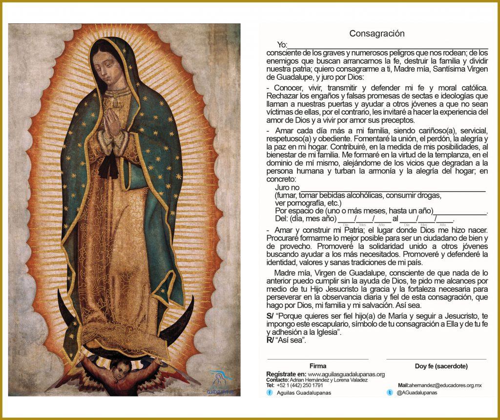Juramento a la Virgen de Guadalupe