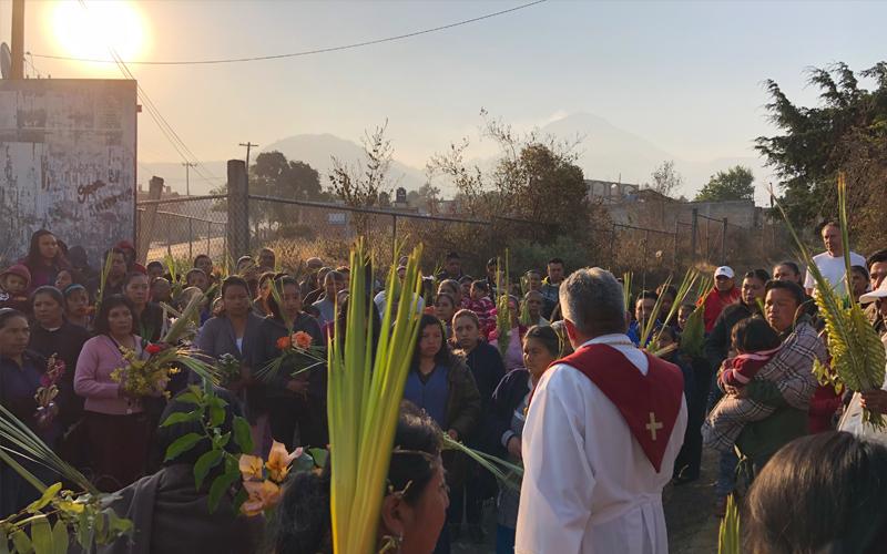 Misiones Semana Santa domingo de ramos