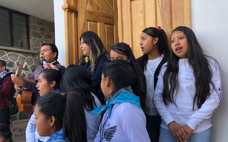 Misiones Semana Santa grupo de misioneros