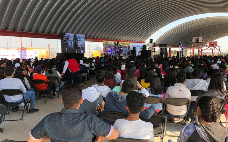 Misiones Semana Santa grupo en junta