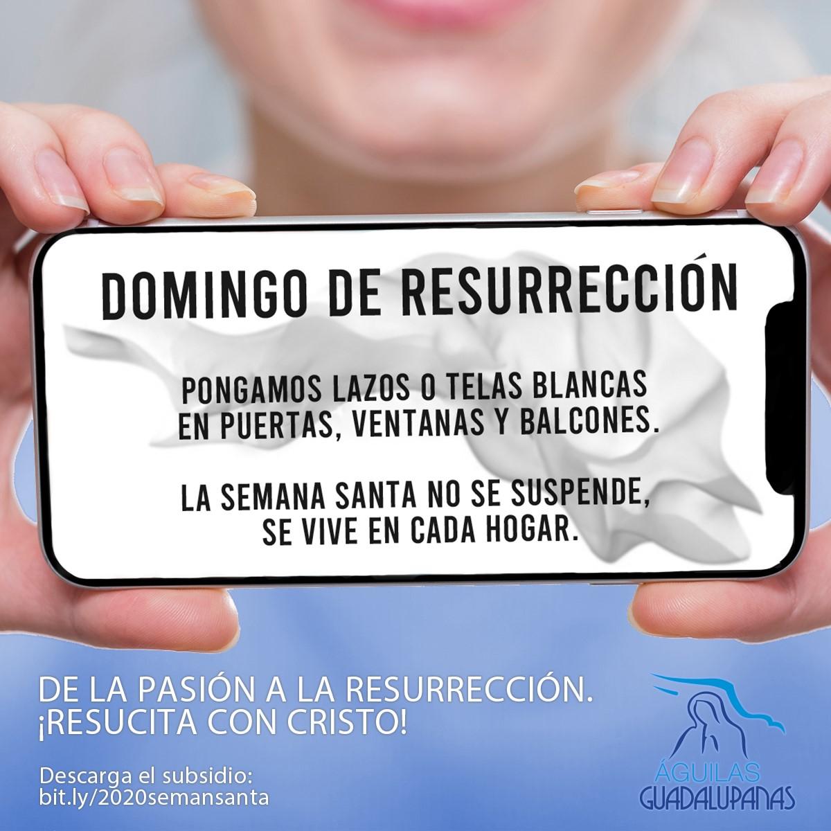 De la pasión al domingo de resurrección