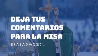 comentarios para la misa