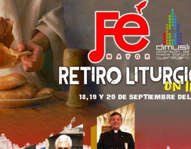 Retiro Litúrgico Fe Mayor (On line)